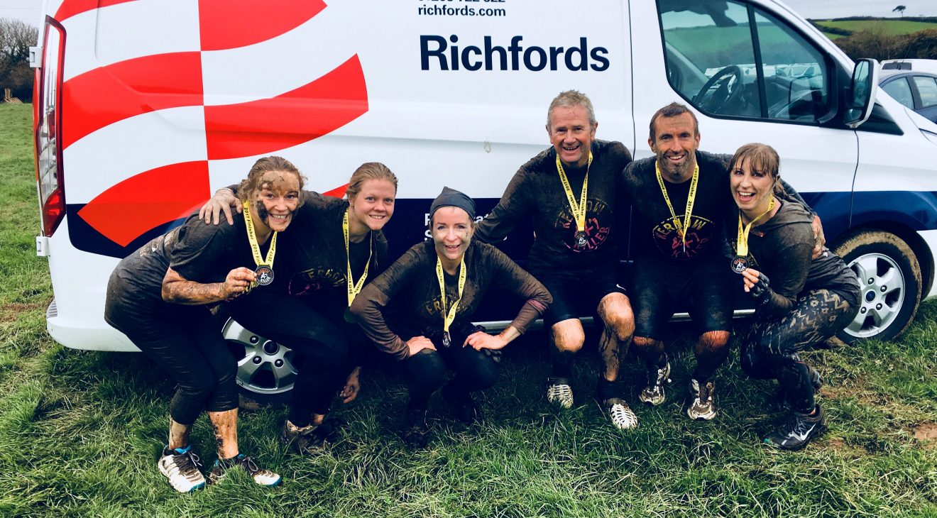 Richfords assault course challenge raises money for Cornwall Air Ambulance