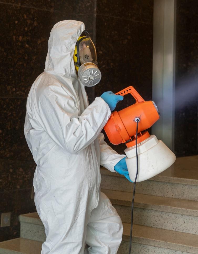 COVID-19 Disinfectant Fogging
